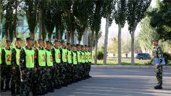 练兵先练官 武警张掖支队严密组织干部军事考核
