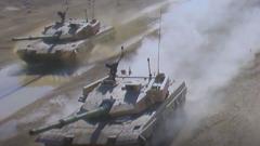 """國際軍事比賽-2020:中方""""坦克兩項""""參賽隊完成組建 即將啟程赴俄"""