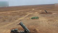 俄战略导弹部队与炮兵部队联合演习
