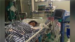 救助危重孕妇 火箭军官兵紧急献血