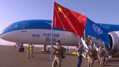 中国赴马里维和部队顺利完成轮换交接