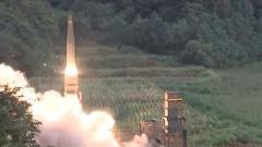 """韩国试射""""玄武-4""""弹道导弹 钻地100米命中目标"""