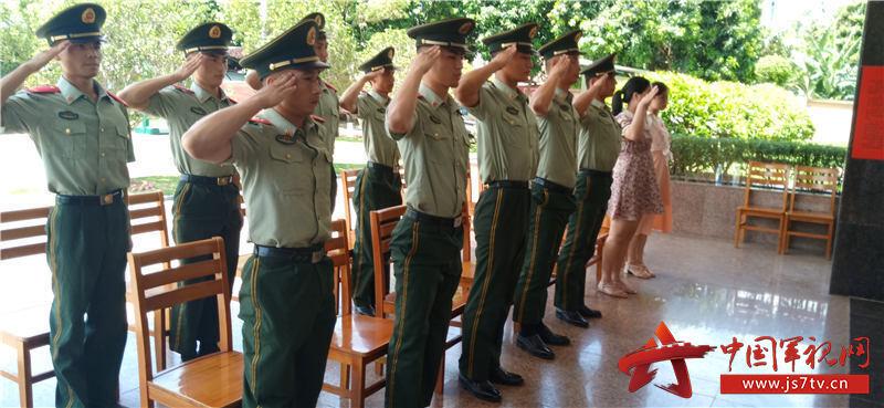 8向老兵致敬