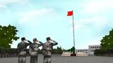 敬一个标准的军礼,几百个日日夜夜,不知道敬了多少次军礼。现在,不单单和战友告别、与军营告别,更是和自己过往的无悔青春告别。