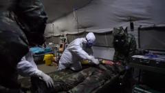 火箭軍某基地:旅野戰救護所千里趕考 錘煉衛勤硬功