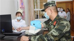 暖心贴心!武警保山支队组织官兵和部分军属健康体检