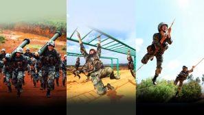 【軍視界】戰酷暑 斗高溫 多課目連貫訓練在紅土高原上火熱展開