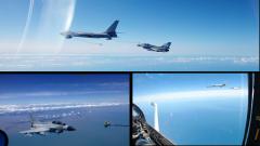 【第一军视】飞行数小时加油几分钟 直击歼击机空中加油训练