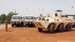 中國第八批赴馬里維和部隊通過聯合國裝備核查