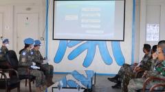 我国赴黎维和建筑工兵分队高标准通过联合国军事能力评估