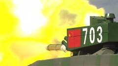 """【国际军事比赛-2020】""""坦克两项""""最后一场比赛 中方参赛队准备就绪"""