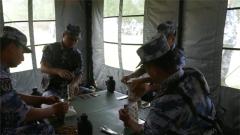 北部战区海军航空兵组织野战饮食快餐化保障训练