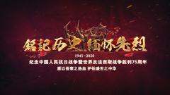 """【第一军视】""""九三""""纪念日:历史不容忘却 昨日不可重演"""