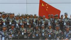 """國際軍事比賽-2020 """"空降排""""項目落幕 中國參賽隊成績優異"""