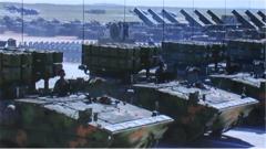 【直击演训场 探秘新式武器装备】  红箭-10反坦克导弹亮剑西北大漠