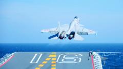 【在习近平强军思想指引下·我们在战位报告】14°仰角,放飞向深蓝