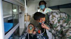 高原戰士突發肺水腫 軍地5單位跨越千里協同搶救
