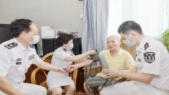 海軍軍醫大學第一附屬醫院:賡續紅色血脈 服務抗戰老兵