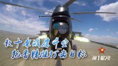 【第一军视】数十架战鹰升空 轮番精准打击目标