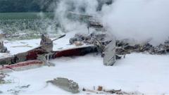 美军一架E-2C预警机坠毁 专家:装备太老还缺编
