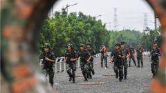 誰與爭鋒!武警重慶總隊舉辦偵察比武競賽