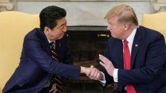 安倍辞职立马致电特朗普 叮咛美日军事要更进一步?