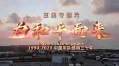 維和三十年丨軍事題材專題片《為和平而來》即將推出 致敬乘風破浪的維和軍人