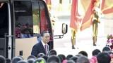 """9月8日上午,""""共和國勛章""""獲得者鐘南山抵達人民大會堂。 9月8日上午,全國抗擊新冠肺炎疫情表彰大會在北京人民大會堂隆重舉行。 新華社記者 李響 攝"""