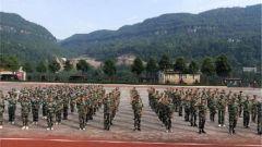 四川南江:開展學生軍訓工作夯實國防教育根基