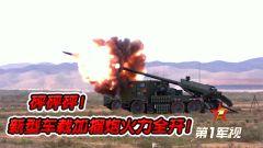 【第一军视】砰砰砰!新型车载加榴炮火力全开