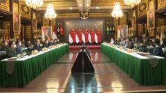 魏凤和同印度尼西亚国防部长举行会谈