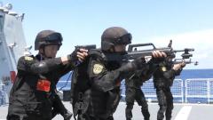 海军第36批护航编队组织特战队员开展实战化训练