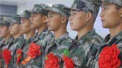 """讓紅色血脈永續傳承!陸軍第80集團軍""""先鋒勁旅""""迎來紅色老區新兵"""
