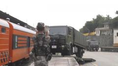 聯勤保障部隊某調度中心開展全要素鐵路輸送聯合演練