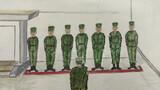 """上哨准备、交接班、观察与报知、紧急情况处置….近日,武警宜昌支队官兵将常年担负守卫三峡大坝的神圣使命通过手绘漫画的形式呈现,旨在进一步激发官兵守卫三峡的光荣感与使命感。""""手绘执勤漫画,可以让官兵静下心来想想执勤形势和组勤方式以及执勤过程中需要注意的问题,这样就能达到研究执勤、强化执勤的效果,从而牢固树立正确的执勤安全观""""中队长说道。图为上哨前准备。清点人员、整理着装,明确任务、提出要求,让官兵对勤务做到""""五个熟悉"""",确保任务完成圆满。"""