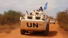 中国赴南苏丹(朱巴)维和步兵营圆满完成10次联合国武装护卫任务