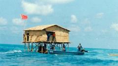 老兵回憶守礁經歷:8個人住一個高腳屋 高矮胖瘦搭配著睡