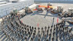 再见,无言的战友!新疆军区某工兵团组织装备交接仪式