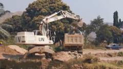 中国第23批赴刚果(金)维和工兵分队完成道路修复任务
