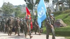 中国第24批赴刚果(金)维和部队第一梯队安全抵达任务区