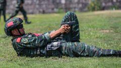 武警宁波支队:紧贴实战练硬功 极限训练为打赢