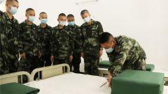 知心 暖心 用心 讓初入軍營的新兵倍感溫暖