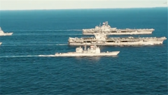 """美軍要用無人機為艦載機""""增程"""" 專家:為了保住受冷落的航母"""