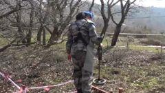 中國第19批赴黎巴嫩維和多功能工兵分隊首次同時獲得兩種掃雷資質