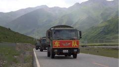 尖刀車持續掉隊 汽車女兵駕車初上川藏北線就遇難題