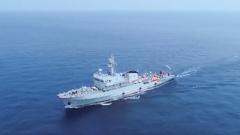 【直擊演訓場】南部戰區海軍:多型艦艇展開反水雷訓練