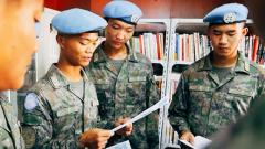 中國第十九批赴黎巴嫩維和建筑工兵分隊開展軍營網絡安全宣傳活動