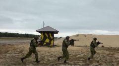 俄白兩國特種部隊完成聯合反恐演習