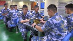 【首届军营网络安全宣传周】海军唐山舰:一体联动 深度融合练兵备战