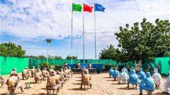 中國第16批赴蘇丹達爾富爾維和工兵分隊開展應急科目訓練